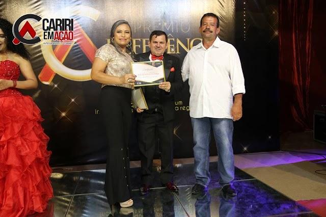 Vereadora Maria Pedrosa participa da Entrega do Prêmio Referência 2018