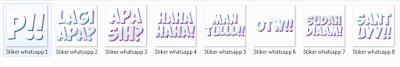 Desain Stiker Kata-Kata Untuk Whatsapp