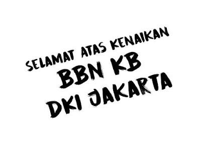 BBN KB Bea Balik Nama Kendaraan Bermotor DKI Jakarta Naik 2020