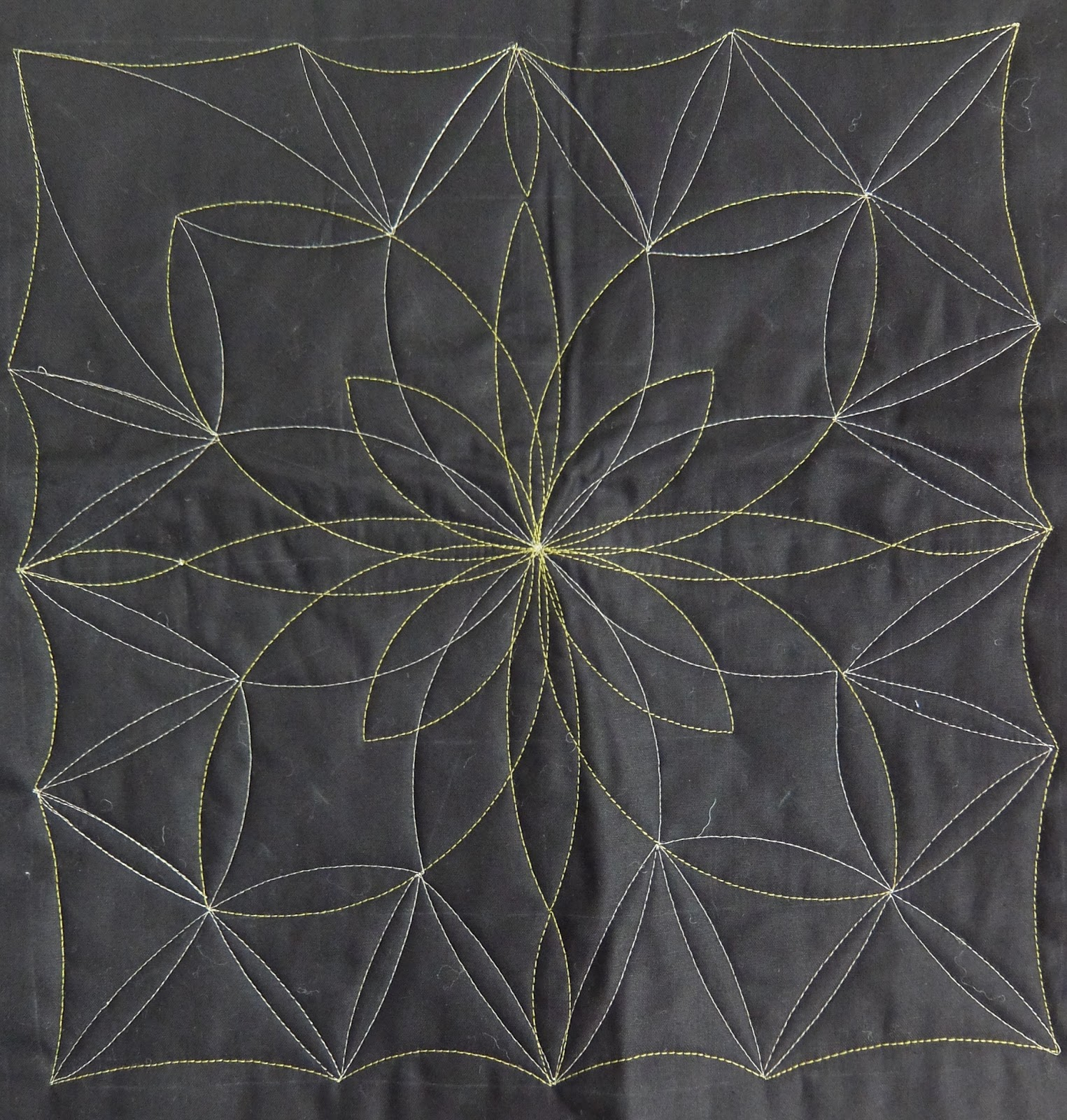 Jane madly quilting