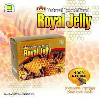 Paket Obat Epilepsi Royal Jelly Nasa