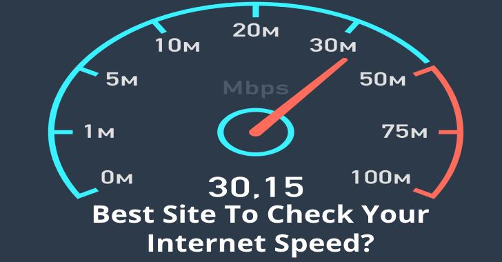 checkmyinternet speed