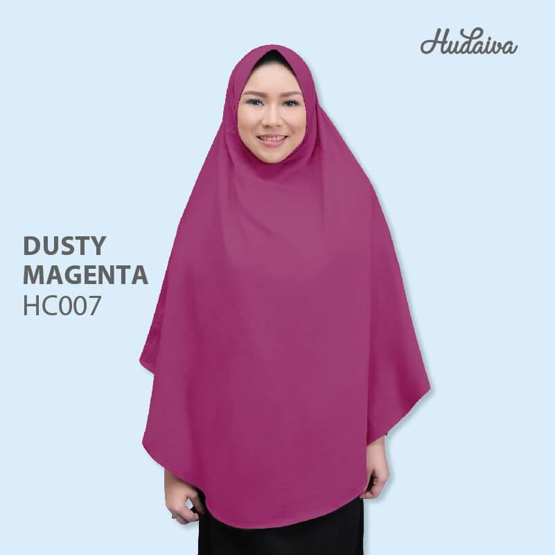 Hudaiva Jilbab Alana HC007 DUSTY MAGENTA