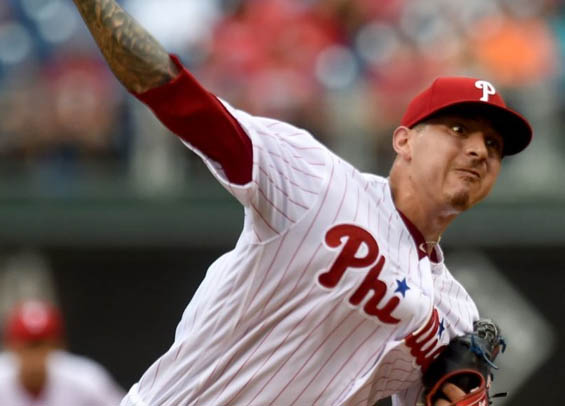 Velasquez and the Phillies
