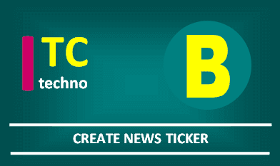 Create News Ticker with Jquery and Bootsrap