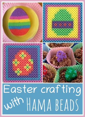 Easter crafts for children using Hama beads
