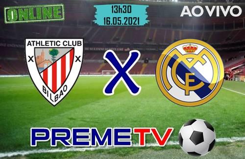 Athletic Bilbao x Real Madrid Ao Vivo