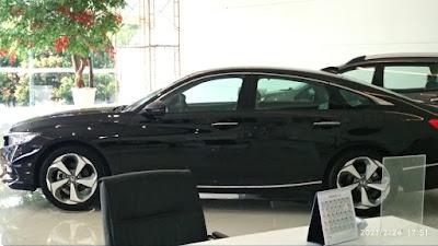 Honda Accord 2021 di Dealer resmi Honda Pasteur, (PT. Indosal Pasteur)