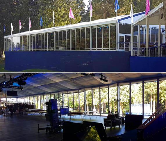 Window Film Tint Installation for LPGA Pavilion in Seattle WA