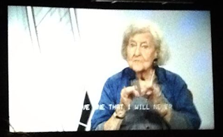 Norma Lewis, 92 years old and the oldest working interpreter in the U.S.