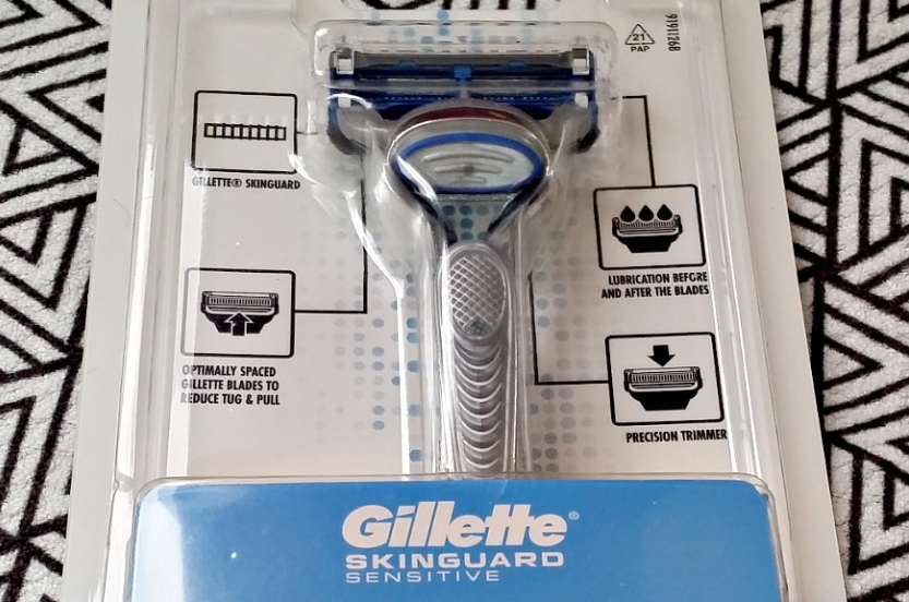 Life As Kim: (Ad - Gifted) Gillette's new SkinGuard