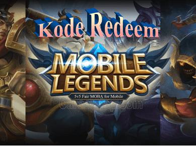 Redeem Mobile Legend