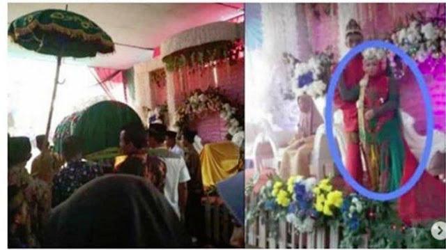 Tamu Undangan Geger, Pengantin Wanita Meninggal Kelelahan Saat Pesta Pernikahan