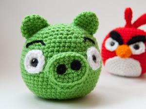 Piggy Angry Birds Amigurumi (patrón en español)