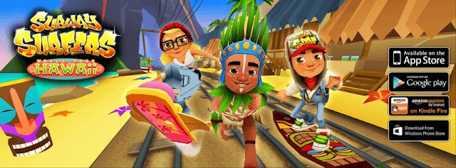 تحميل لعبة صب واي سيرفرس 2020 : Subway Surfers للاندرويد والايفون [ الأصلية ]