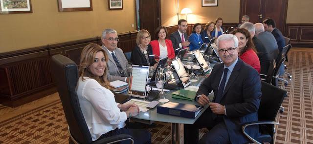 Consejo de Gobierno de Andalucia y organos colegiados