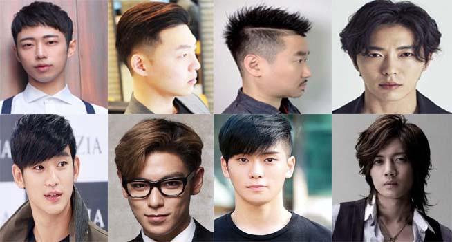 model rambut pria korea pendek rapi