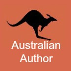 Australian author book icon