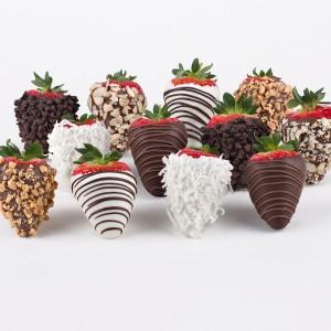 Sweet Treats Gourmet Chocolate Dipped Strawberries