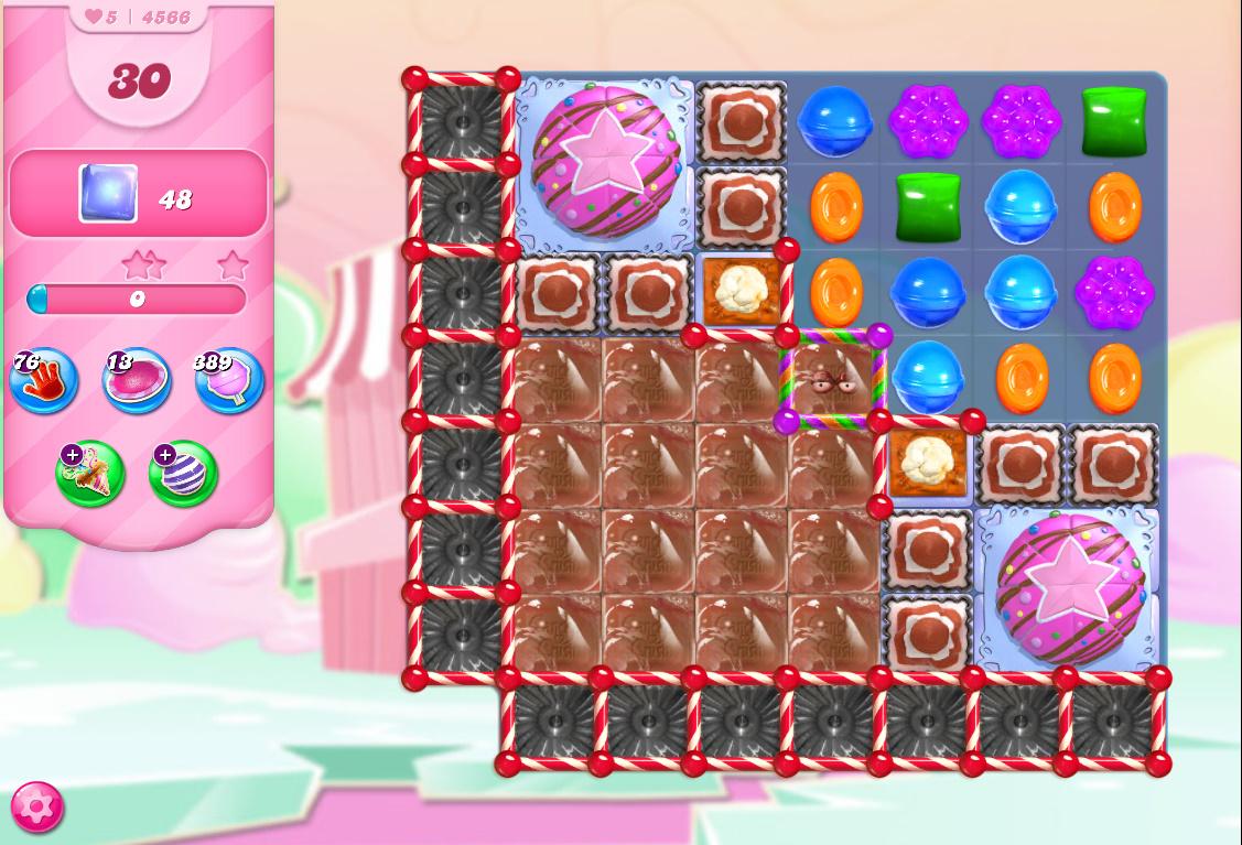 Candy Crush Saga level 4566
