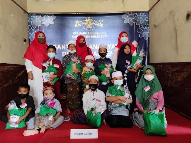 Santunan Anak Yatim Sambut Tahun Baru 1443 Hijriyah PC. Muslimat NU BULELENG