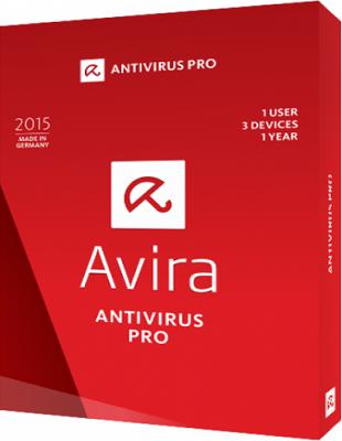 Avira Antivirus Pro 15.0.32.6 poster box cover