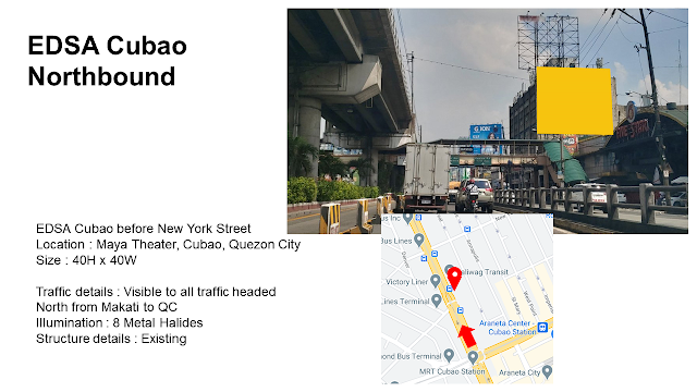 EDSA Cubao Billboard Now Available