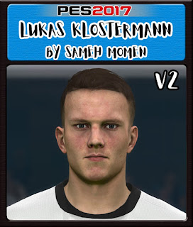PES 2017 Faces Lukas Klostermann by Sameh Momen