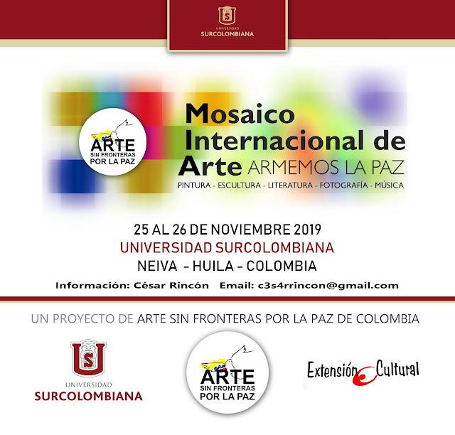 MOSAICO INTERNACIONAL DE ARTE ARMEMOS LA PAZ