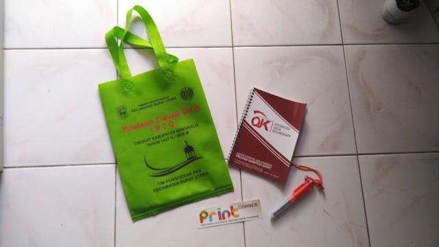 Seminar Kit Tas, Buku, Pena, dan Stiker