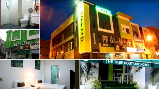 The tree boutique hotel murah shah alam