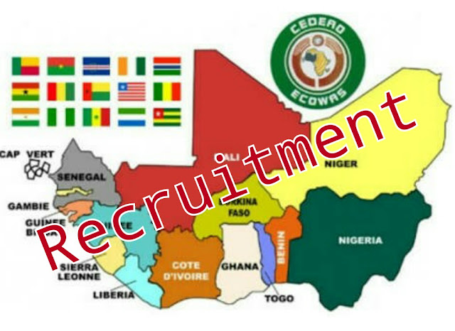 ECOWAS Recruitment Portal https://www.ecowas.int/current-careers/