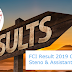 FCI Result 2019 Out for JE, Steno & Assistant 4103 Posts - Get Here Zone-Wise Direct Link to Download FCI Phase-I Result & CutOff Marks