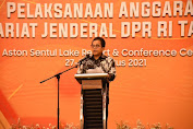 Sekjen DPR Dorong Pegawai Optimalkan Realisasi Anggaran Triwulan III dan IV