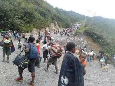 Pengungsi Papua di Sorot Media Internasional, The New York Times