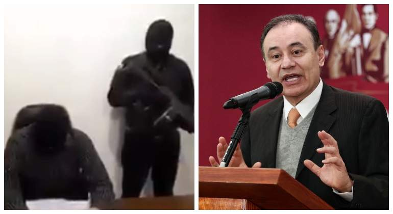 """VIDEO, Alfonso Durazo protege a """"El Mencho"""", líder del Cártel Jalisco Nueva Generación, aseguran encapuchados; """"Todos tenemos un precio"""""""