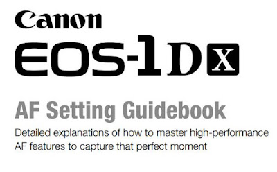 EOS-1D X AF Settings Guidebook Download