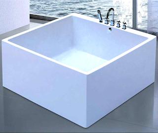 square-bathtub