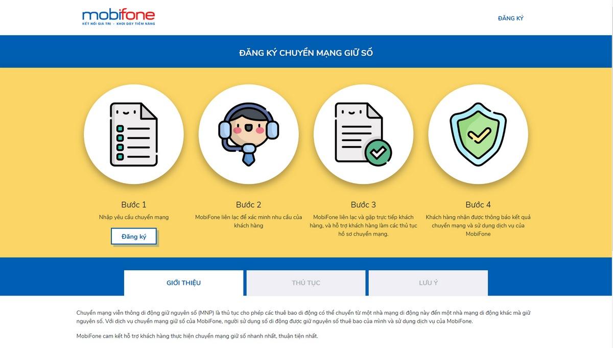 Hướng dẫn cách chuyển mạng giữ số cho các mạng di động Viettel, Vinaphone, Mobifone