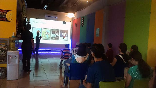 charlas en evento