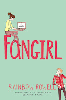 Fangirl by Rainbow Rowell book cover and review
