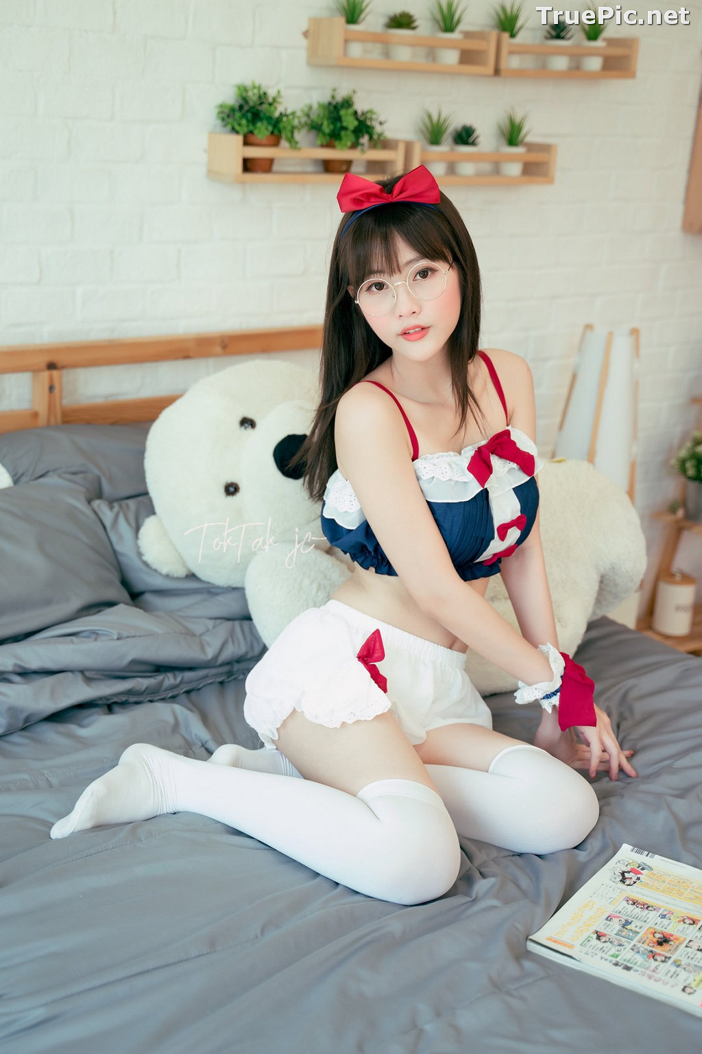 Image Thailand Model - Waralee Teerapanpong - Sailor Moon Lingerie - TruePic.net - Picture-9