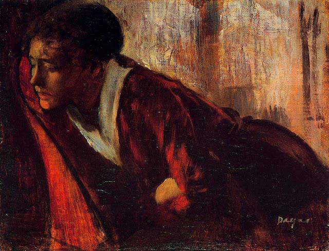 Эдгар Дега - Меланхолия (1874)