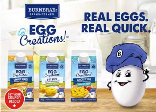 Burnbrae Farms Egg Creations Coupon