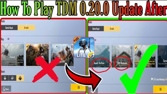 How to play TDB Warehouse and Zombie mode in PUBG Mobile Lite