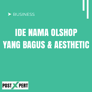 100+ Nama Olshop Aesthetic Instagram, Islami dan Artinya