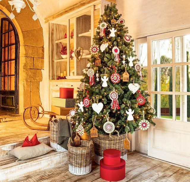 Ritual del árbol de navidad con los siete Arcangeles