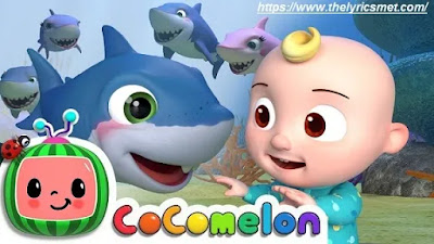 Baby Shark Song Lyrics | CoComelon Nursery Rhymes & Kids Songs