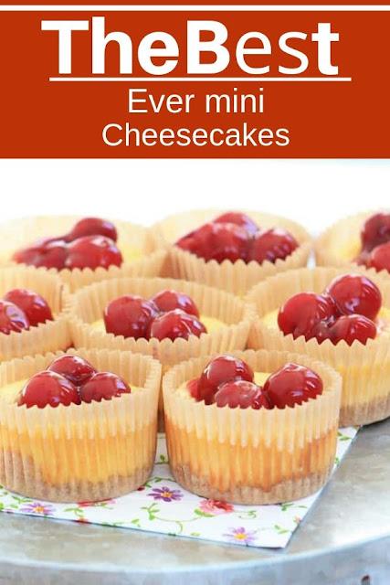 hе Bеѕt Evеr Mini Cheesecakes #Thе #Bеѕt #Evеr #Mini #Cheesecakes Dessert Recipes Easy, Dessert Recipes Healthy, Dessert Recipes For A Crowd, Dessert Recipes Peach, Dessert Recipes Simple, Dessert Recipes Best, Dessert Recipes Fall,