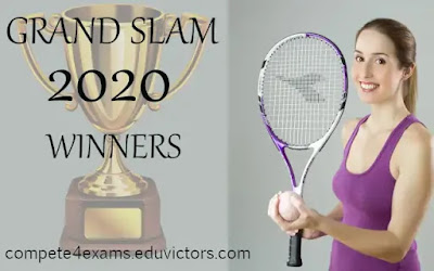 GRAND SLAM 2020 WINNER WITH FACTS (#LawnTennis)(#GrandSlam2020)(#sports)(#compete4exams)(#eduvictors)